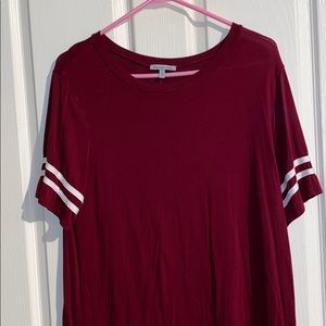 red charlotte russe t-shirt